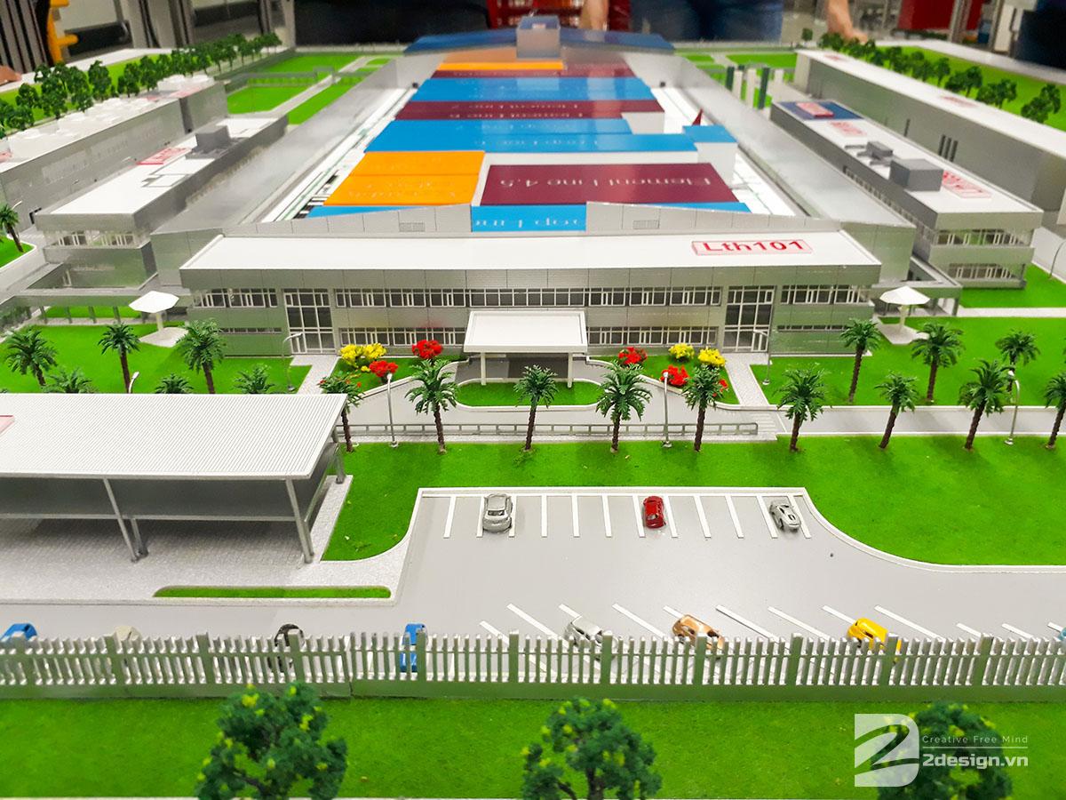 mô hình kiến trúc nhà máy bosch 4