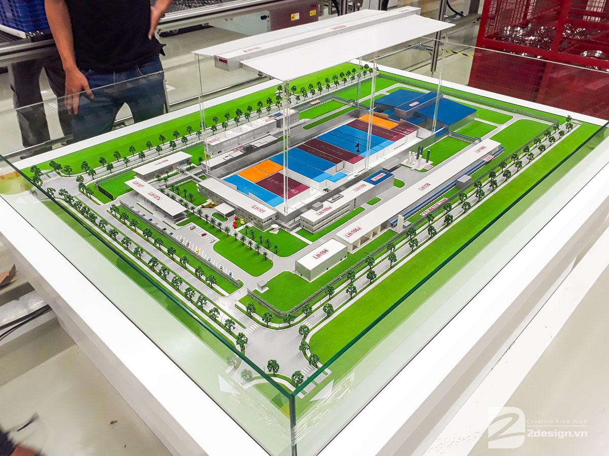 mô hình kiến trúc nhà máy bosch 1