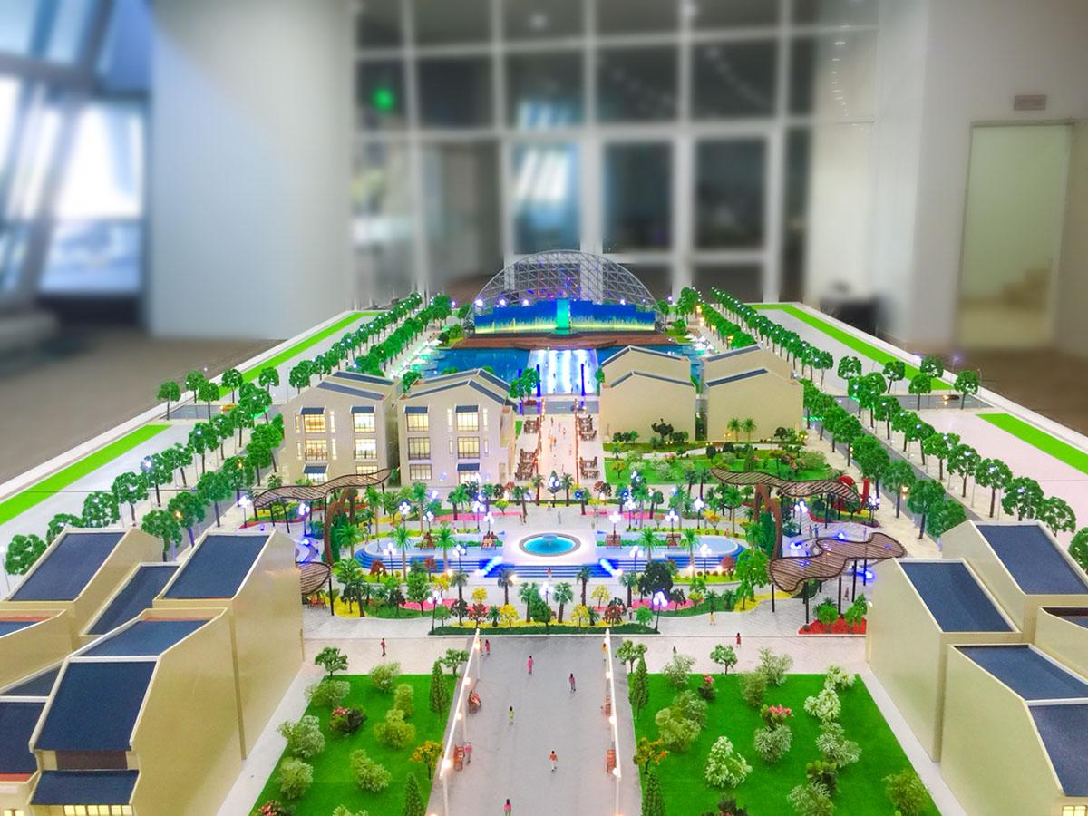 làm mô hình kiến trúc sa bàn center point Đà Nẵng 3
