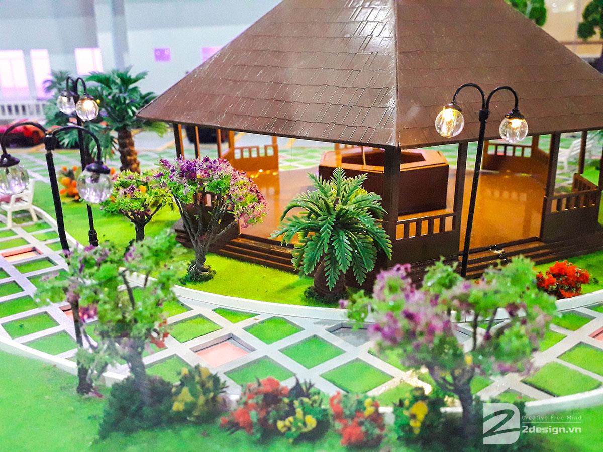 làm mô hình kiến trúc sa bàn center point Đà Nẵng 7