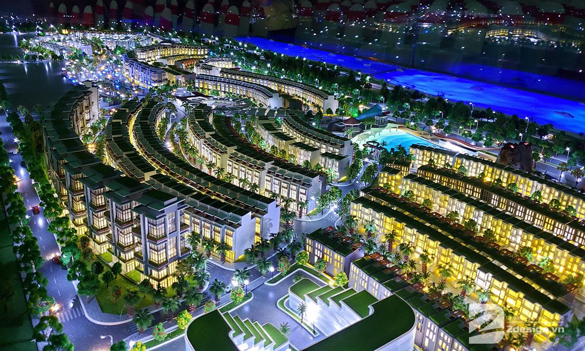 làm mô hình kiến trúc sa bàn Mũi Né Summerland Resort 1