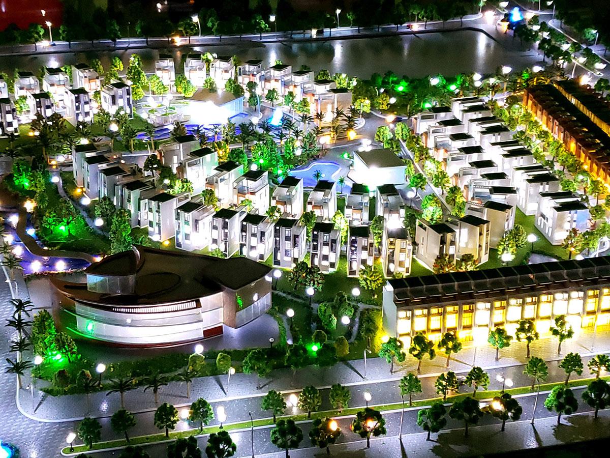 làm mô hình kiến trúc sa bàn Mũi Né Summerland Resort 3