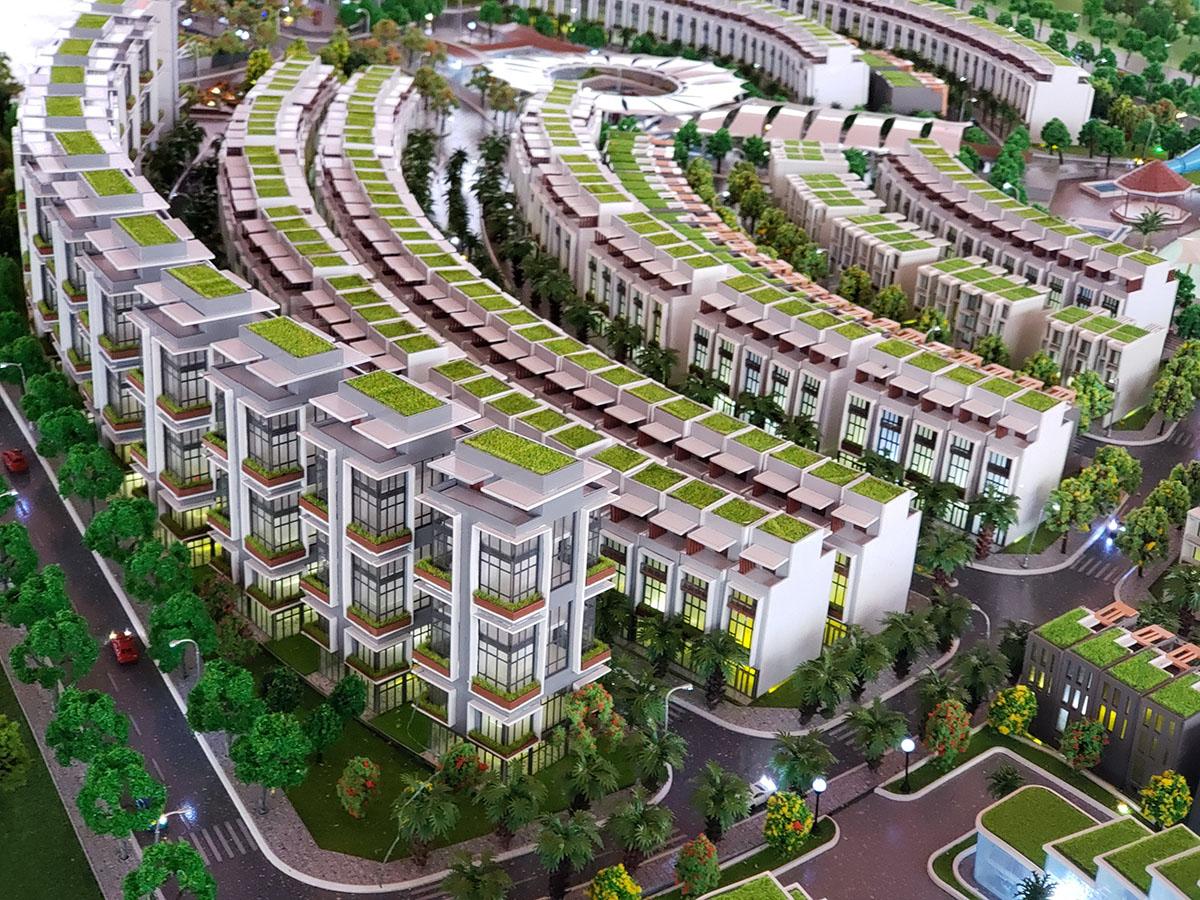 làm mô hình kiến trúc sa bàn Mũi Né Summerland Resort 5