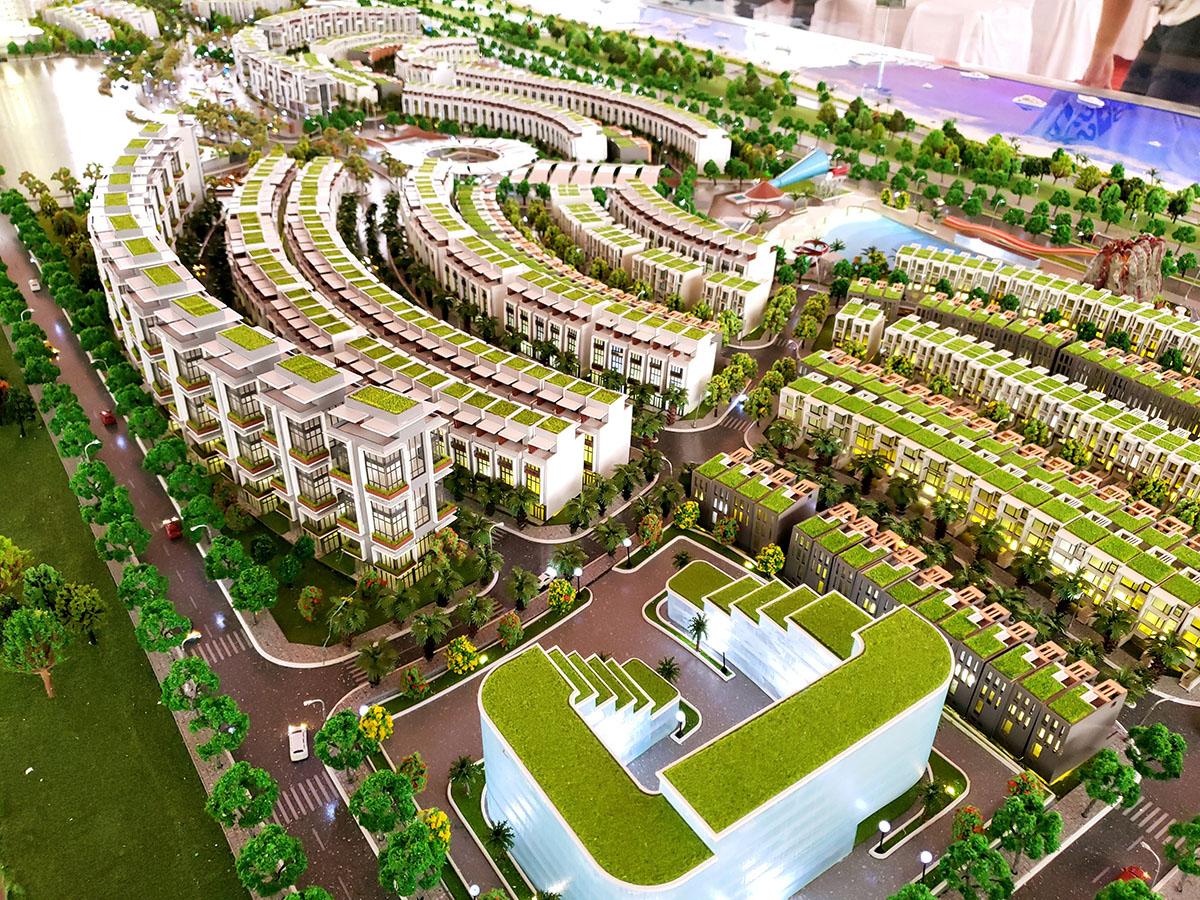 làm mô hình kiến trúc sa bàn Mũi Né Summerland Resort 6