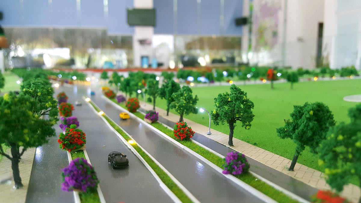 mô hình kiến trúc khu đô thị ngũ tượng khải hoàn 3