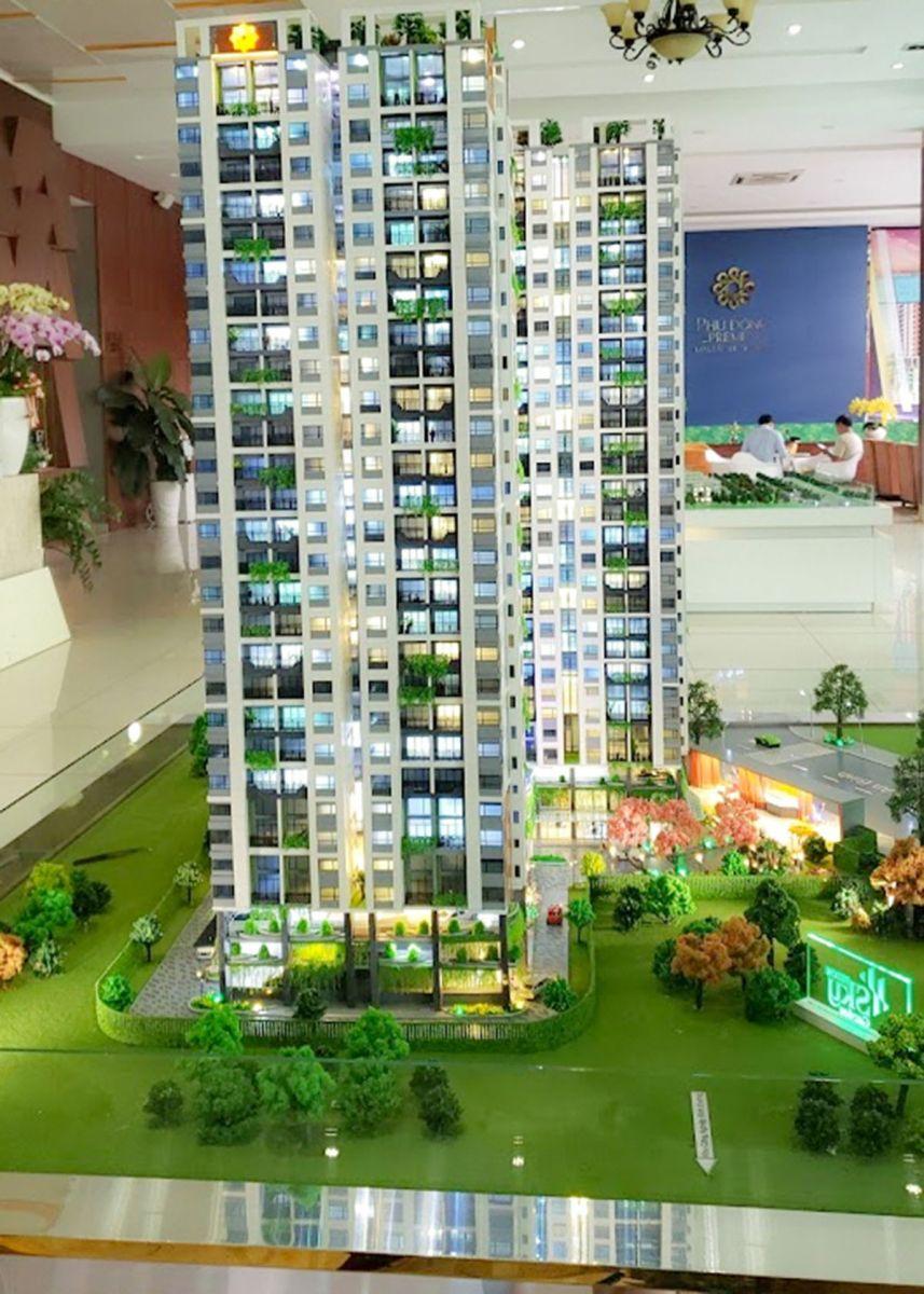 làm mô hình kiến trúc sa bàn Phúc Đông Sky Garden 2