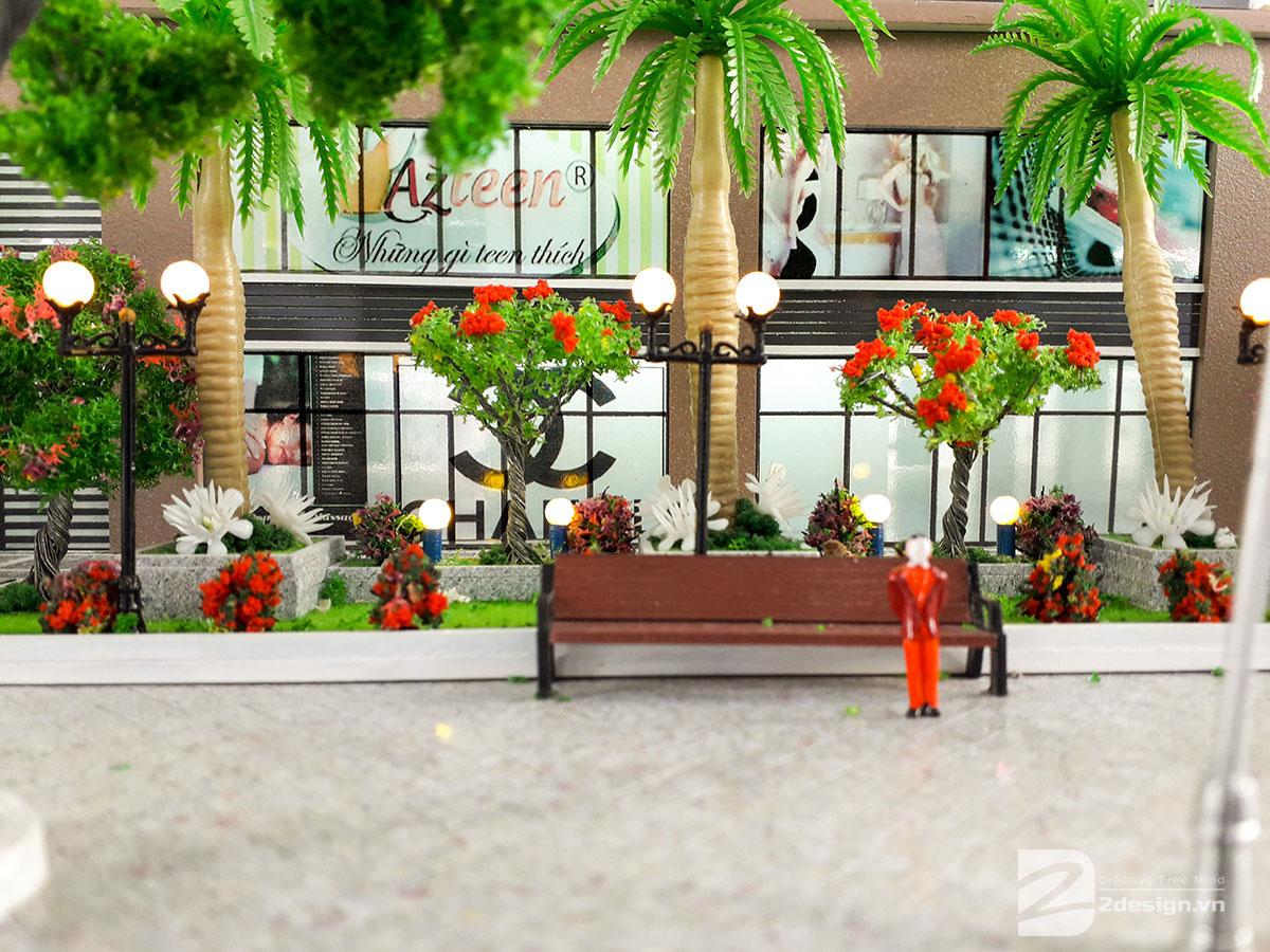 làm mô hình kiến trúc sa bàn phú tài residence 11