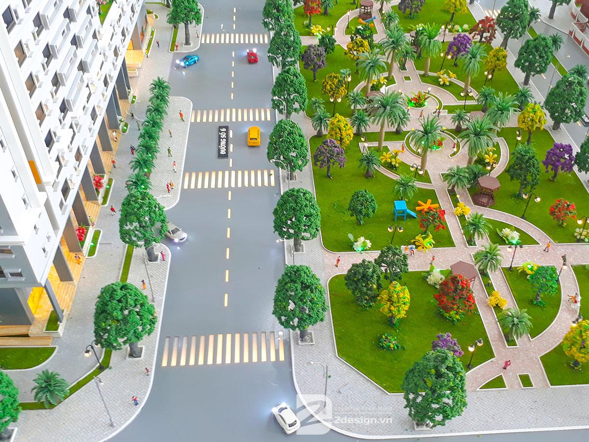 làm mô hình kiến trúc sa bàn Fresca Riverside 11