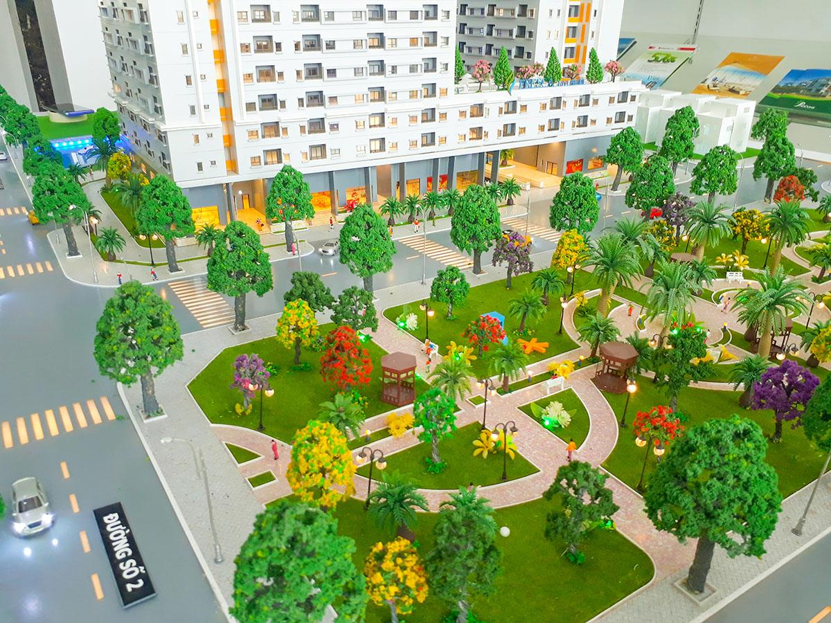 làm mô hình kiến trúc sa bàn Fresca Riverside 12