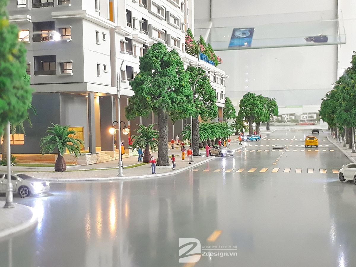 làm mô hình kiến trúc sa bàn Fresca Riverside 9