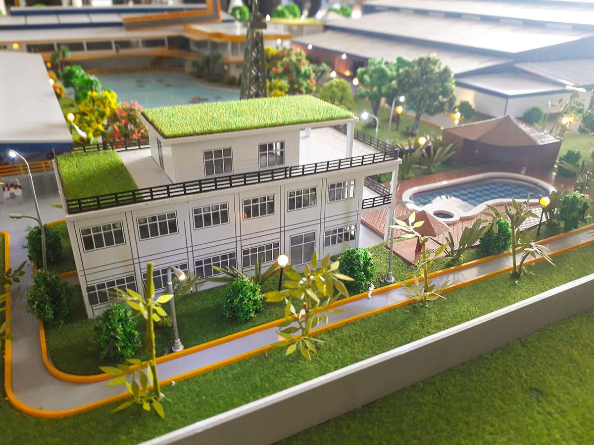 làm mô hình kiến trúc sa bàn saigon tantec 7