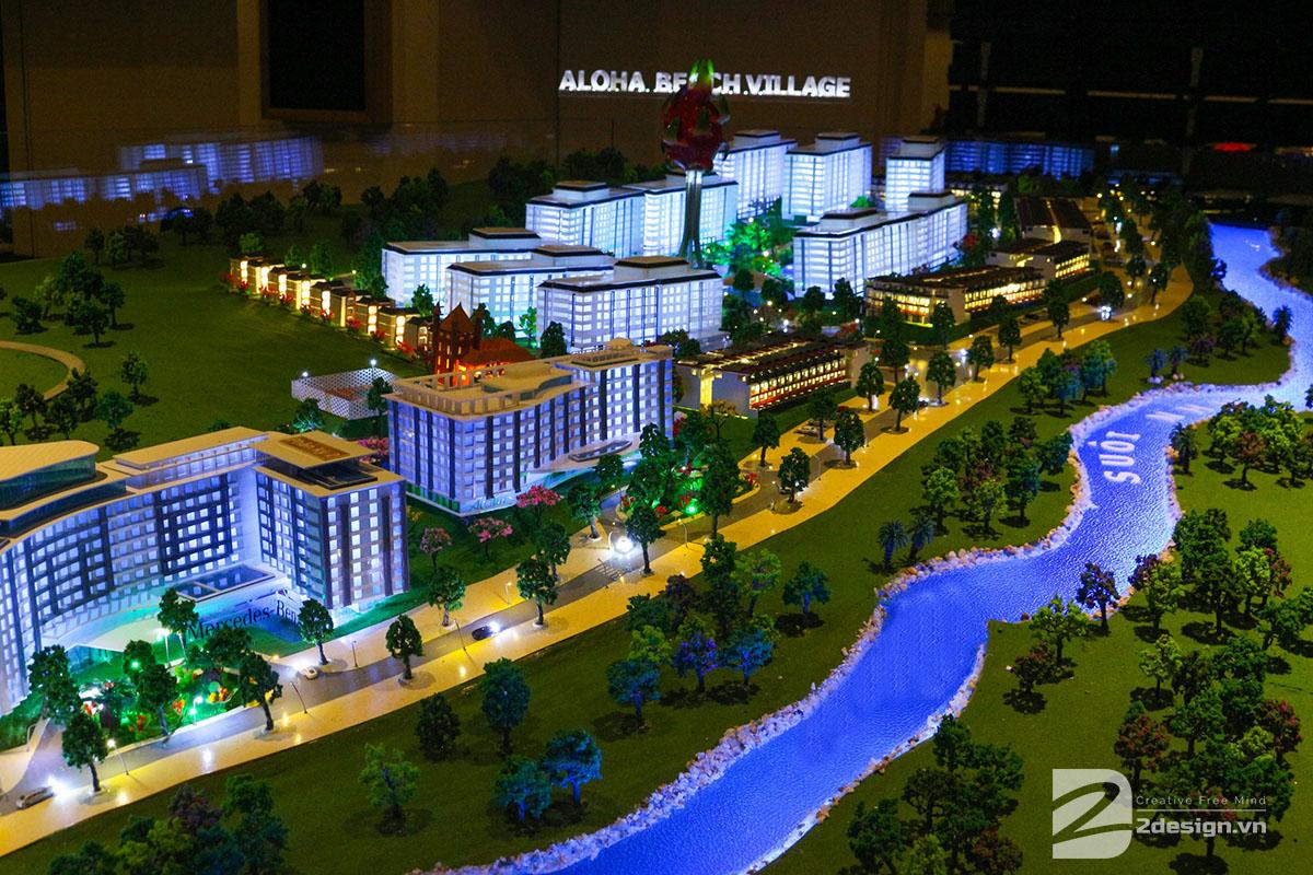mô hình kiến trúc Aloha Beach Village 10
