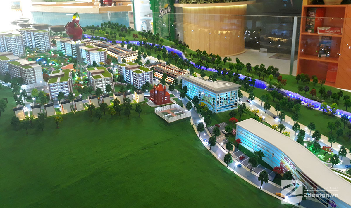 mô hình kiến trúc Aloha Beach Village 4