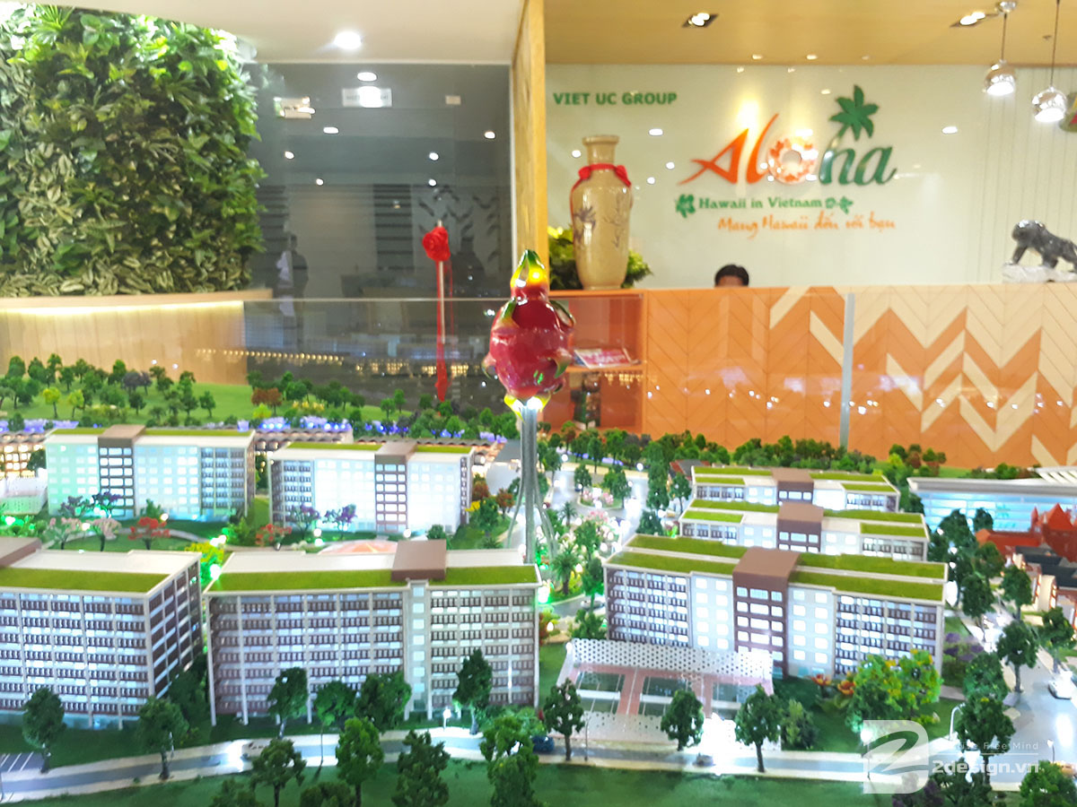 mô hình kiến trúc Aloha Beach Village 5