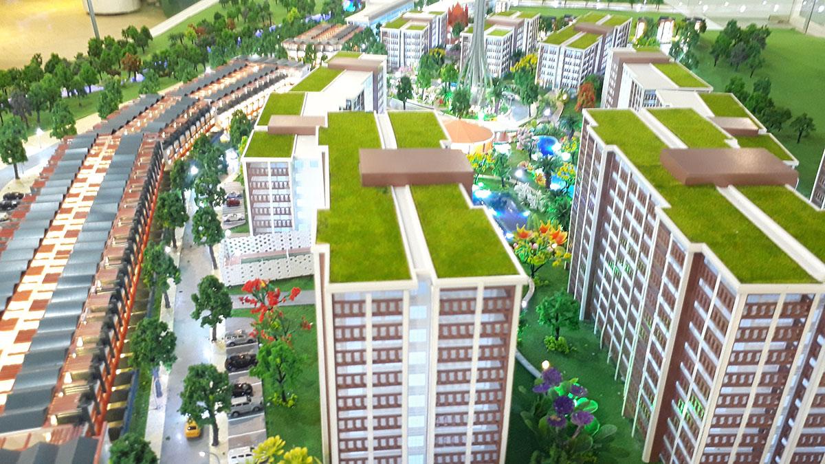 mô hình kiến trúc Aloha Beach Village 7