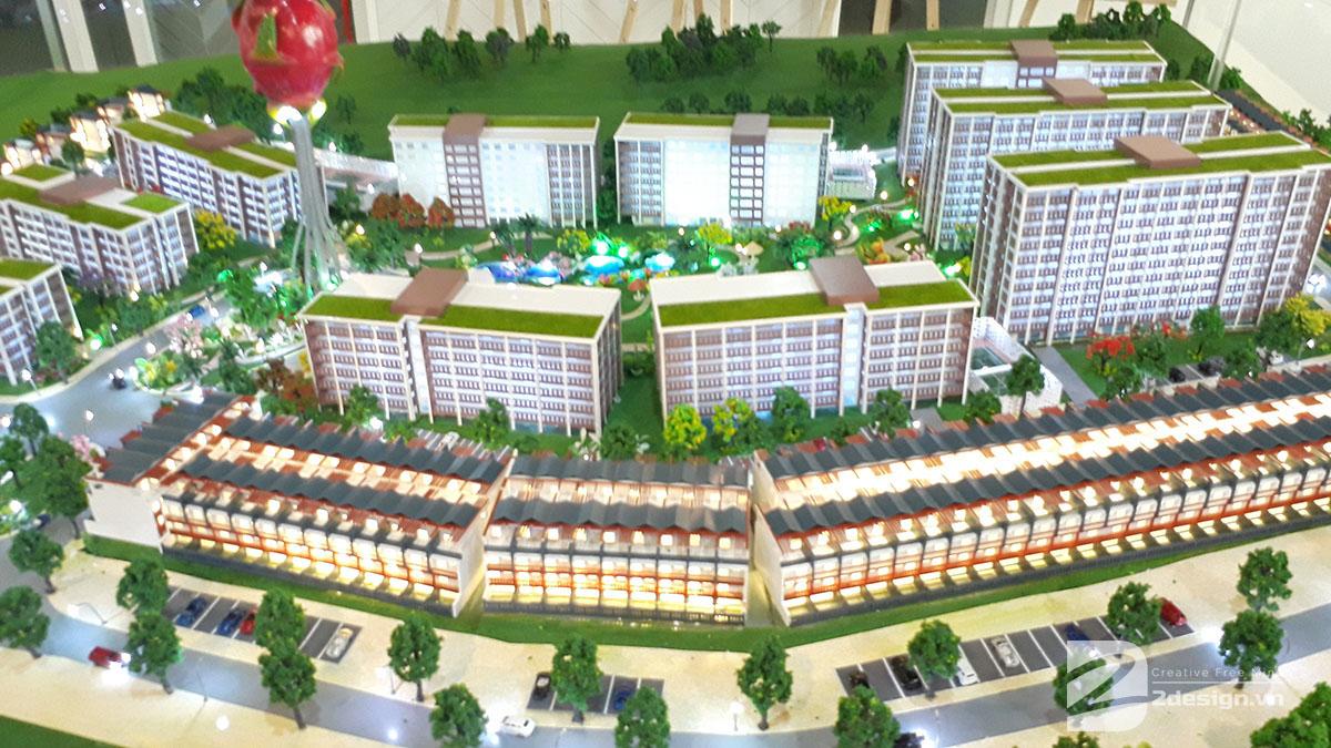mô hình kiến trúc Aloha Beach Village 8