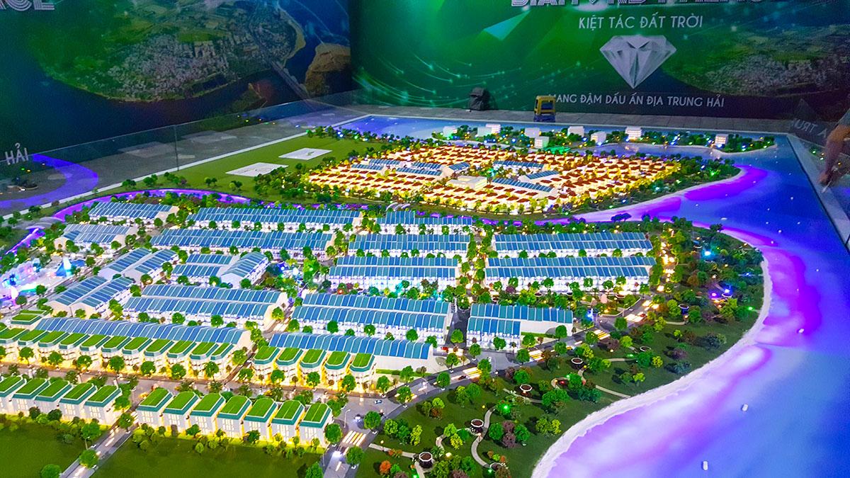 làm mô hình kiến trúc sa bàn Golden Hills 7