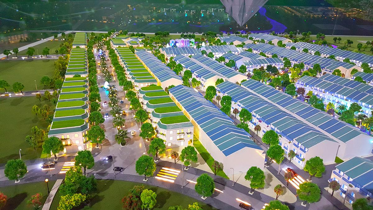 làm mô hình kiến trúc sa bàn Golden Hills 4